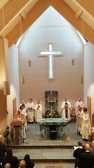 Kircheneinweihung