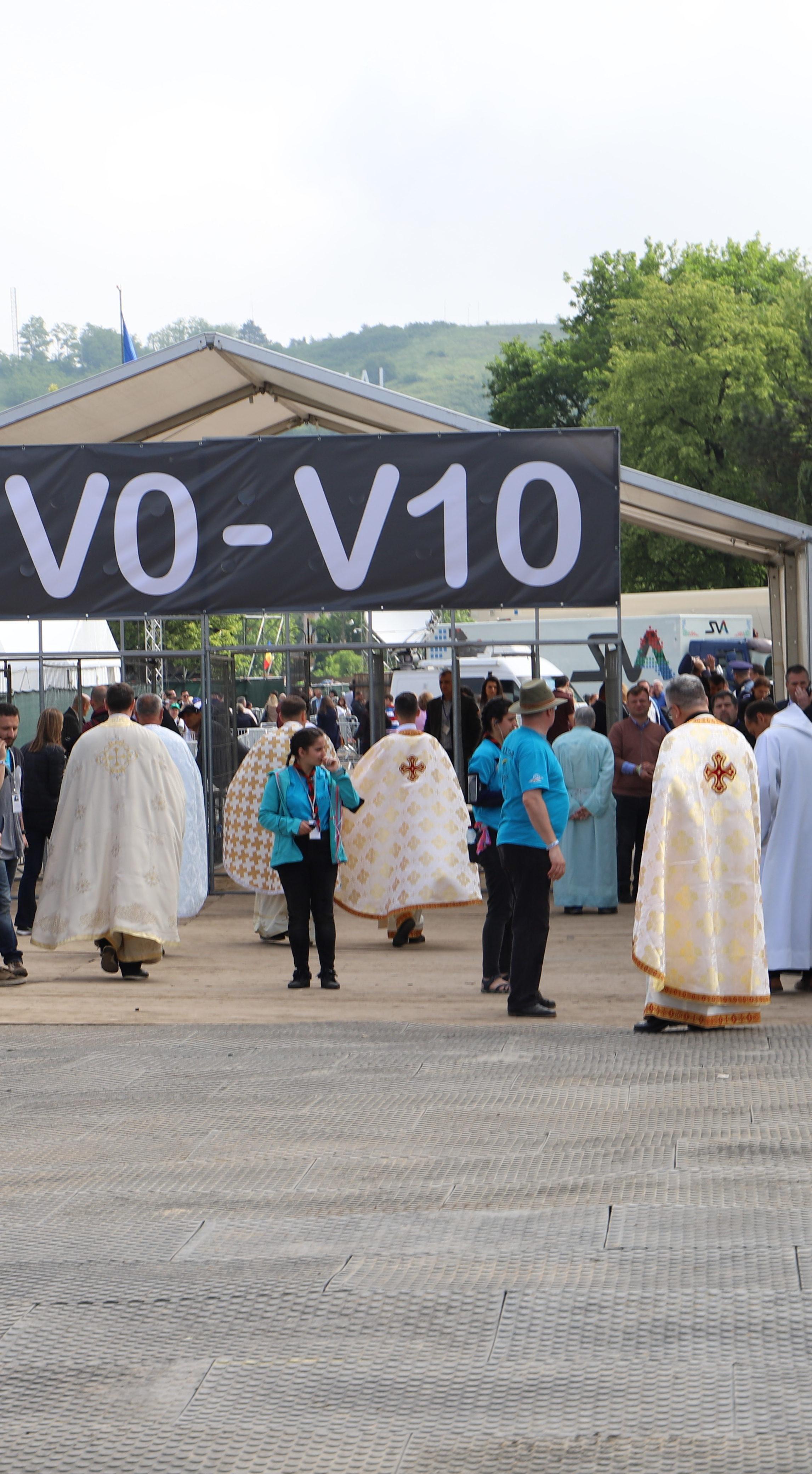 Papstmesse in Blaiy